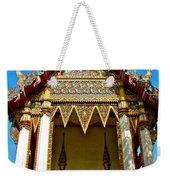 One Of Many Pagodas In Bangkok-thailand Weekender Tote Bag