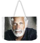 One Of The Most Interesting Man In The World Weekender Tote Bag by Angela A Stanton