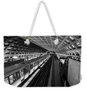 One Point Perspective Weekender Tote Bag