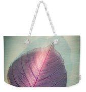 One Purple Leaf Weekender Tote Bag