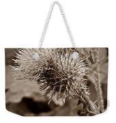 One Sepia Weekender Tote Bag
