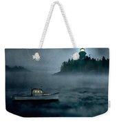 One Stormy Night In Maine Weekender Tote Bag by Edward Fielding