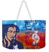 One Thing About Music Weekender Tote Bag