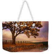 One Tree Hill Weekender Tote Bag by Lois Bryan