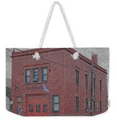 One Truck Fire Station Weekender Tote Bag