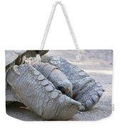 One Very Old Very Large Sulcata Tortoise Weekender Tote Bag