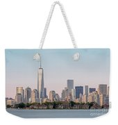 One World Trade Center And Ellis Island 2 Weekender Tote Bag