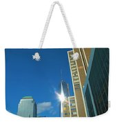 One World Trade Center Weekender Tote Bag by Dan Sproul