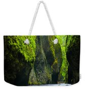 Oneonta River Gorge Weekender Tote Bag