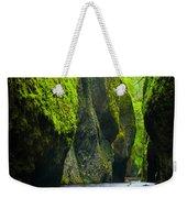 Oneonta River Gorge Weekender Tote Bag