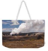 Ongoing Eruption Weekender Tote Bag