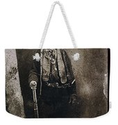 Only Authenticated Photo Of Billy The Kid Ft. Sumner New Mexico C.1879-2013 Weekender Tote Bag