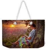 Only The Heart May Know Weekender Tote Bag