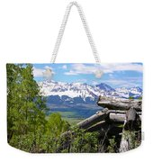 Only The Structures Crumble Weekender Tote Bag