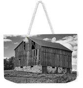 Ontario Barn Monochrome Weekender Tote Bag