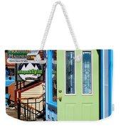 Open Door Weekender Tote Bag