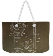 Open End Ratchet Wrench Patent Weekender Tote Bag
