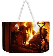 Open Fire Weekender Tote Bag
