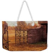 Open Gate By Cottage Weekender Tote Bag