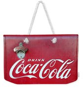Open The Real Thing Weekender Tote Bag