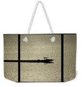 Open Waters Triptych Weekender Tote Bag