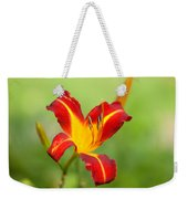 Opens With Life Weekender Tote Bag