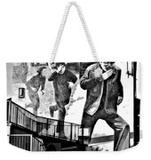 Operation Motorman Mural Weekender Tote Bag