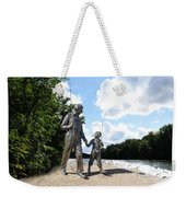 Opie And Andy Go Fishin Weekender Tote Bag