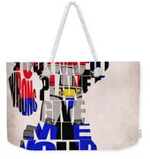 Optimus Prime Weekender Tote Bag