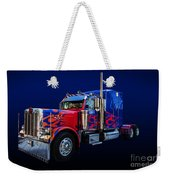 Optimus Prime Blue Weekender Tote Bag