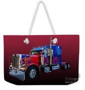 Optimus Prime Red Weekender Tote Bag
