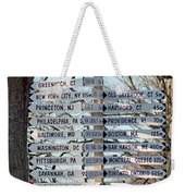 Options Weekender Tote Bag