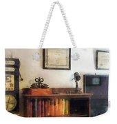 Optometrist - Eye Doctor's Office With Diploma Weekender Tote Bag