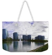 Oracle Buildings In Redwood City Ca Weekender Tote Bag