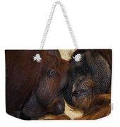Orangatang Love Weekender Tote Bag