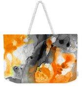 Orange Abstract Art - Iced Tangerine - By Sharon Cummings Weekender Tote Bag