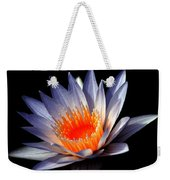 Orange And Blue Lily...   # Weekender Tote Bag