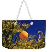 Orange And Blue Sky Weekender Tote Bag