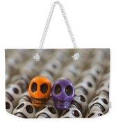 Orange And Purple Weekender Tote Bag