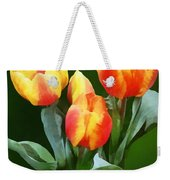 Orange And Yellow Tulips Weekender Tote Bag