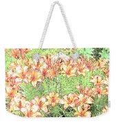 Orange Asiatic Lilies Weekender Tote Bag