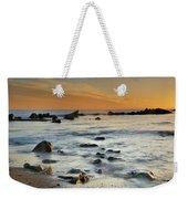 Orange At Sunset Weekender Tote Bag by Guido Montanes Castillo