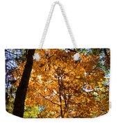 Orange Autumn II Weekender Tote Bag