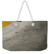 Orange Avenue Curb Cut Coronado California Weekender Tote Bag