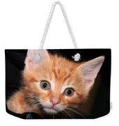Orange Baby Weekender Tote Bag
