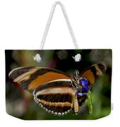 Orange Banded Butterfly Weekender Tote Bag