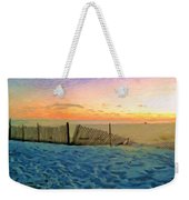 Orange Beach Sunset - The Waning Of The Day Weekender Tote Bag
