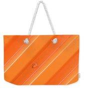 Orange Bolt Weekender Tote Bag