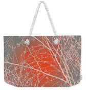 Orange Branches Weekender Tote Bag