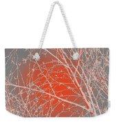 Orange Branches Weekender Tote Bag